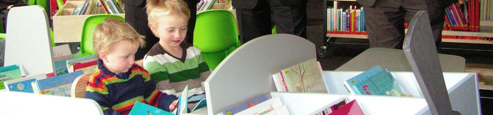 Stadtbücherei Leonberg: Ein großes Angebot auch für die Kleinen! (Foto: Stadt Leonberg)