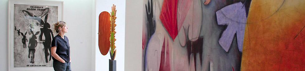 Indianische Kunst im Galerieverein (Foto: Gary Duszynski)