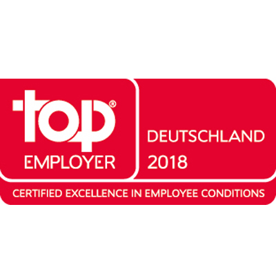 Top Employer Deutschland 2018 - Logo