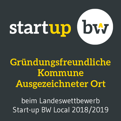 Start-up BW Gründungsfreundliche Kommune (Quelle: Start-up BW)