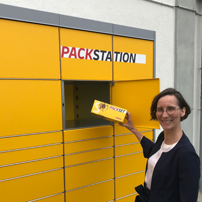 Packstation in Höfingen